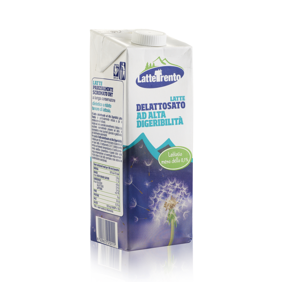 Latte senza lattosio Delattosato U.H.T. alta digeribilit� 6 L