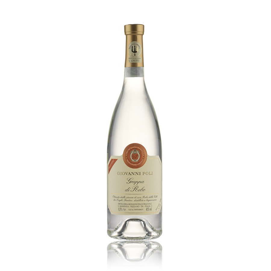 Grappa di Rebo 70 NON PIU DISPONIBILE