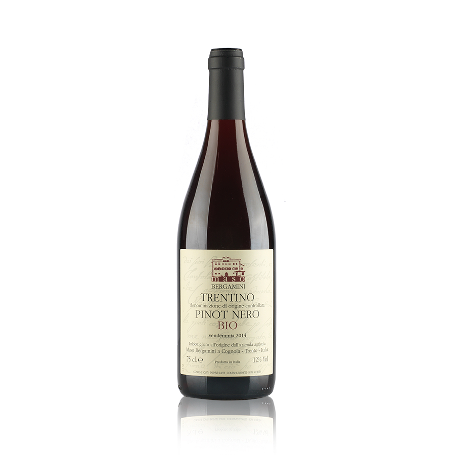 Pinot Nero Bio 2014 Maso Bergamini