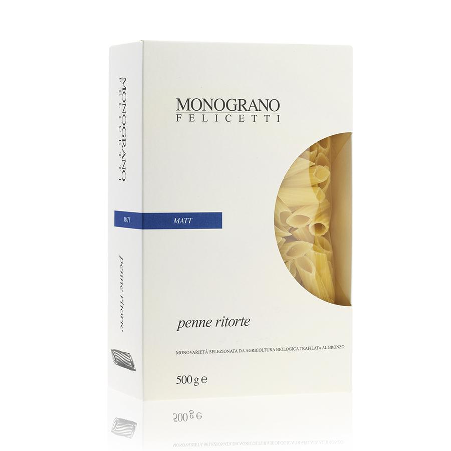 Penne Ritorte Monograno Matt N�170 GR 500